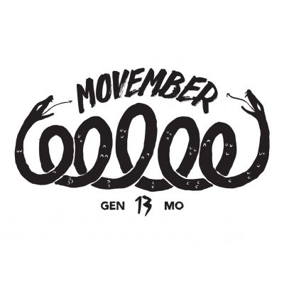 Support Movember by growing your best mustache in November - Help fight prostate and testicular cancer.